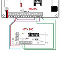Satel Micra + Kontroler MTX-300