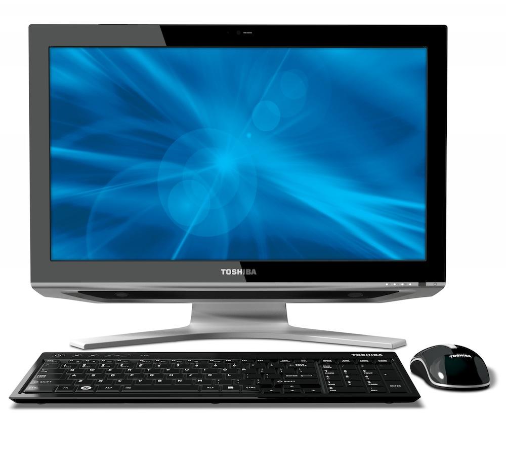 TOSHIBA DX1215 - nowy AIO z 21,5-calowym ekranem Full HD
