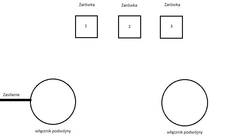 Oświetlenie Schodowe 2 Włączniki Schodowe I 3 Punkty