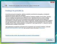 Nie mog� zainstalowa� dodatku SP2 na Vist� HP