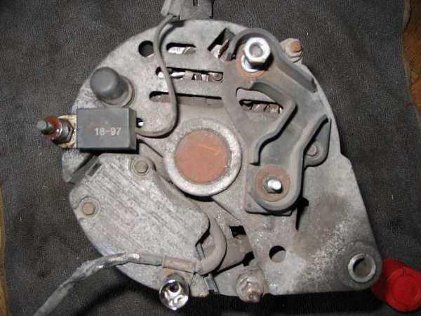 Escort alternator 2 rodzaje