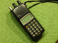 ICOM IC R-10 - Uszkodzona taśma wyświetlacza, jak naprawić?