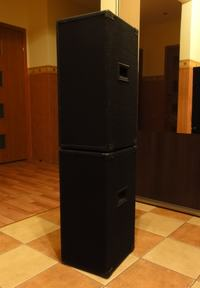 """Aktywne kolumny estradowe 2x35 W RMS - al'a """"Bigos na winie"""""""