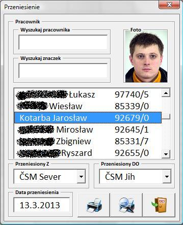 Excel- wydruk jednego arkusza dla wielu pracownik�w