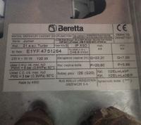 Beretta - Cieśnienie na piecu spadło
