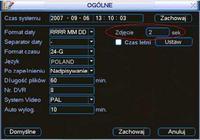 Rejestrator BCS 1604 - użycie jako webcamery