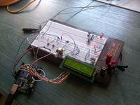 Zegarek, Termometr i Woltomierz w jednym na Arduino.
