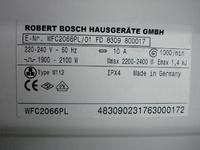 Bosch WFC 2066PL - diagnostyka, wymiana amortyzator�w
