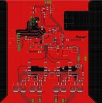 Eagle - Poprawność PCB projektowanego samochodu RC