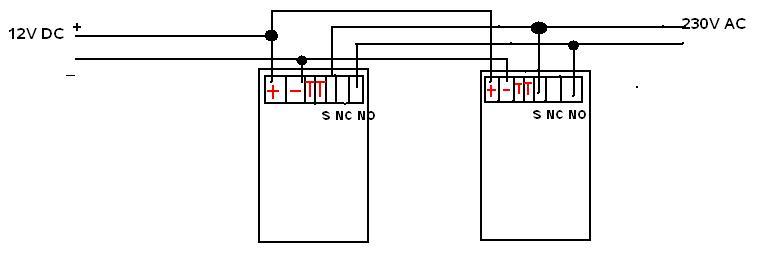 Pod�wietlenie LED i 2 czujniki ruchu