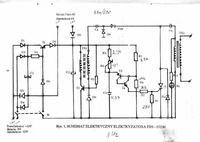 Elektryzator EBS-872/M słabe wyładowanie