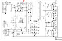 LG W2252S-PF - Wyłącza się podświetlenie, nierównomierna jasność świetlówek