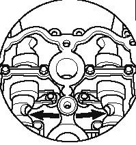 Audi a3 2,0TFSI - Ustawienie wa�k�w i �a�cucha AXX 2,0 TFSI