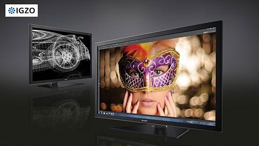 SHARP PN-K321 - profesjonalny 32-calowy wy�wietlacz LCD 4K IGZO