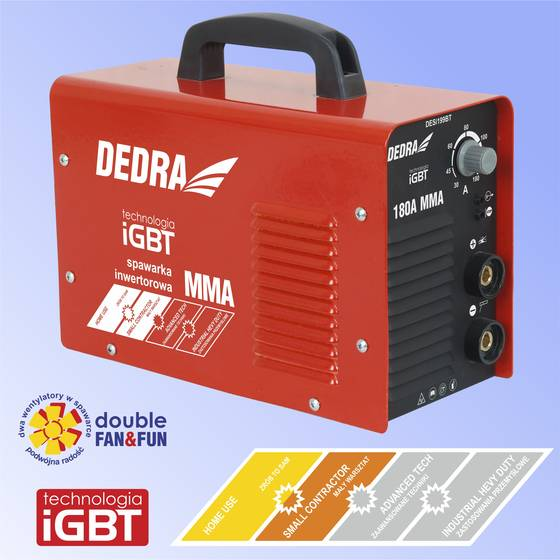 [DESi199 IGBT 180A 230 v] ustawienia spawarki rodzaje elektrod