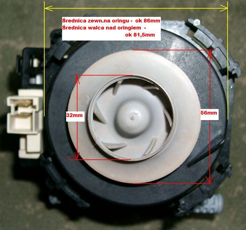 Mastercook ZB 396 lx - Uszkodzona pompa myj�ca Askoll M213