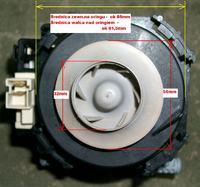 Mastercook ZB 396 lx - Uszkodzona pompa myjąca Askoll M213
