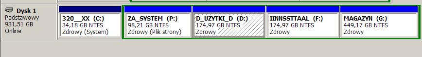 TrueCrypt -czy mog� zaszyfrowa� dysk z 5 partycjami?