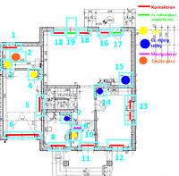Projekt: Integra 128-WRL+czujki zbicia+dualne+kontaktrony