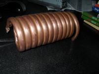Budowa wymiennika ciep�a dla spalin z silnika spalinowego