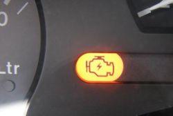 Corsa B 1.4V8 X14SZ świeci się pomarańczowa kontrolka - silnik nie równo pracuje