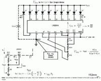 Wakuometr samochodowy LED - sensor MAP z LM3914