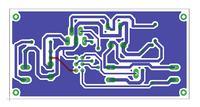 zasilacz power LED PCB i schemat eagle