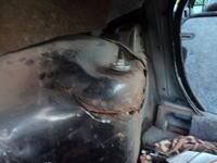Opel vectra A - Uszkodzony kielich amortyzatora