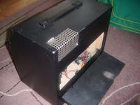 Niedoko�czony hybrydowy wzmacniacz gitarowy (2x ECC85 + LM3875)