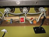 Kolorofon J-50 Układ wykonawczy na triakach _ moja konstrukcja.