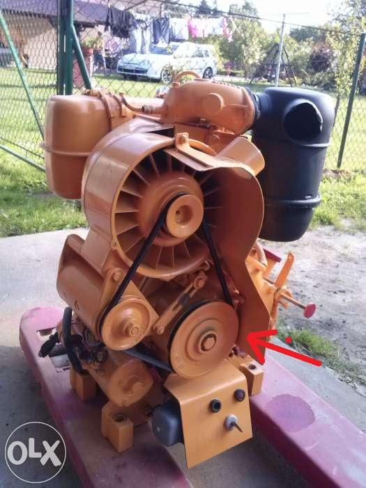 polaczenie pompy hydraulicznej z silnikiem (deutz)