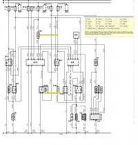 Schemat elektryczny panelu sterowania nawiewem Fiesta Mk4