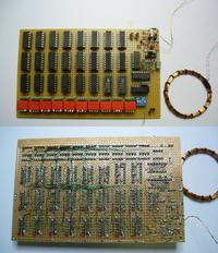 Emulator tagów RFID wyłącznie na układach serii 74xx