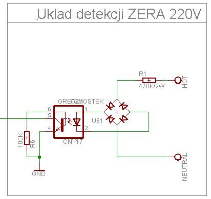 Sterowanie grzałką 230V PWM