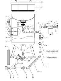 Zestaw agregat, kompresor, piaskarka prośba o pomoc