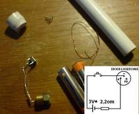 Laser IR z nagrywarki CD-RW