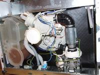 Zmywarka Whirpool ADG7330, przerywa pracę, mruga 11x, awaria