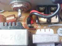 Uszkodzone radio CB Uniden Pro 520xl