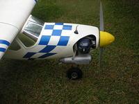 Pierwszy model samolotu RC i jego sterowanie