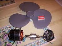 budowa mini MEW ile obrotow aby wzbudzic alternator.