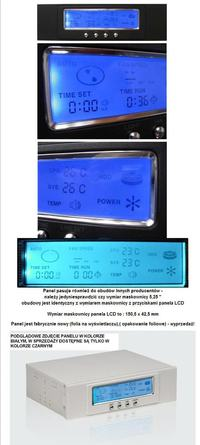 "Panel LCD  Modecom 5.25""."