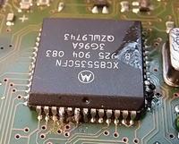 Audi Chorus - Wpisywanie kodu do odblokowania radia