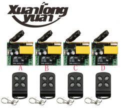 transmisja po 2 przewodach dla 4 sterowników reagujących na zwarcie pinów