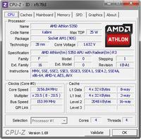 Overclocking podkr�canie procesora AMD E2-3800