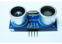 Ultrad�wi�kowy czujnik odleg�o�ci HC-SR04 po��czony z LPT