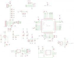 Sterownik matryc LEDowych z interfejsem hub75