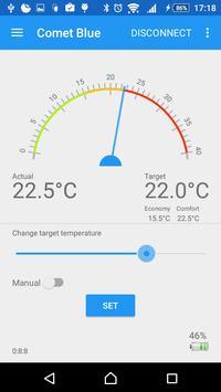 CometBlue - aplikacja sterująca termostatem RT2000BT z Lidla [Bluetooth LE]
