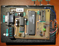 Programator AT89CX051 i AT24C02 + 1-wire na RS-232 i USB