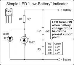 Szukam wersji TL431 o możliwie najniższym poborze prądu