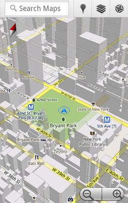 Mapy Google w 3D i z funkcj� offline na telefonach z Android